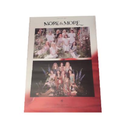 Offizielles Twice Poster (ca. 52,5cm x 76cm) - More & More