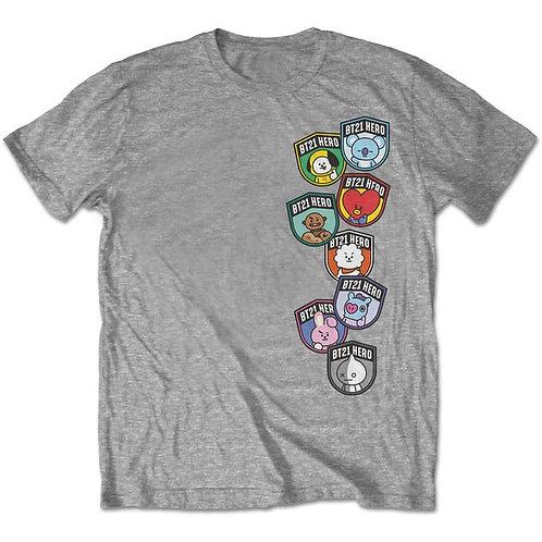 BT21 T-Shirt Abzeichen