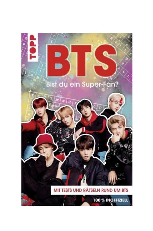 BTS Buch - Bist du ein Super-Fan?