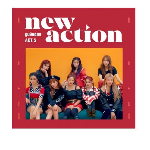 Gugudan 3rd Mini Album - Act.5 New Action