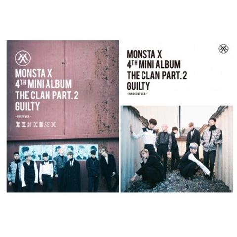 Monsta X 4th Mini Album - The Clan 2.5 Part.2 Guilty