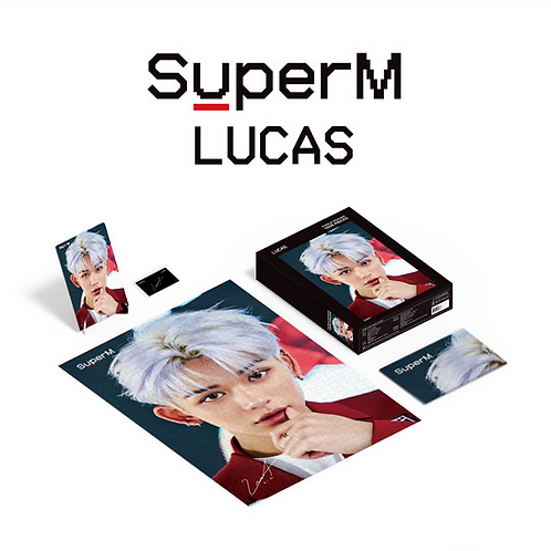 SuperM Puzzle 1000 Teile - Lucas (Limited Edition)