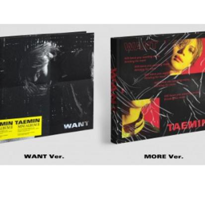 Taemin 2nd Mini Album - Want