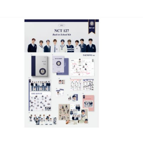 NCT 127 Back To School Kit