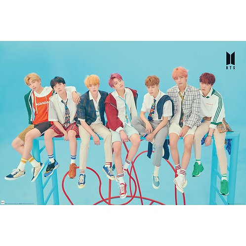 BTS Poster #1 (91,5 x 61cm)