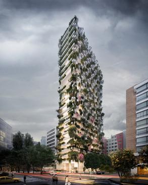 Incorporación de la Vegetación en la Tipología de Edificio Alto