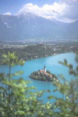 Lac de Bled, Slovénie