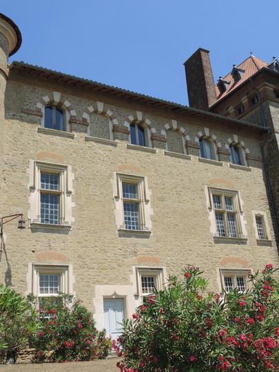 Façade du Château de Cambiac