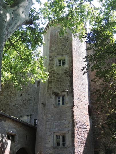 La tour octogonale du Château de Cambiac