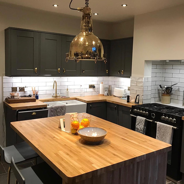 Image result for industrial style kitchen