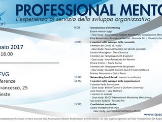 Aggiornamento professionale: programma evento formativo - venerdì 20 gennaio 2017