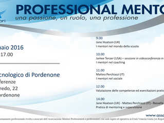 Aggiornamento professionale: programma evento formativo - sabato 16 gennaio 2016