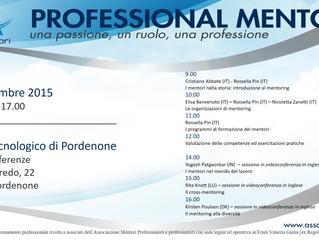 Aggiornamento professionale: programma evento formativo - sabato 12 dicembre 2015