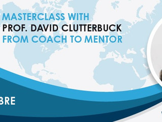 """From Coach to Mentor"": MasterClass con il Prof. David Clutterbuck"