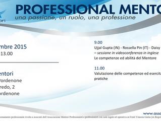 Aggiornamento professionale: programma evento formativo - venerdì 11 dicembre 2015