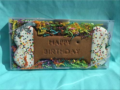 "Enormous ""Happy Birthday"" Biscuit"