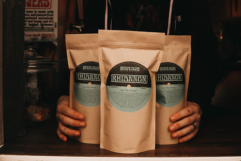 Whole Coffee Beans - Rhiannon (Classic Roast) - 12 oz Bag