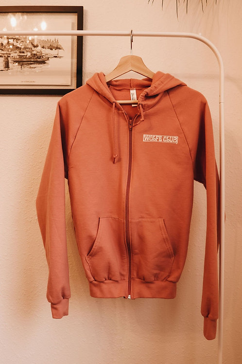 Lightweight Zip-Up - Pink