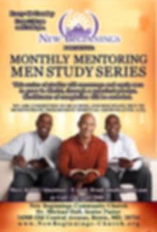 New Beginnings Monthly Men Mentoring Fly