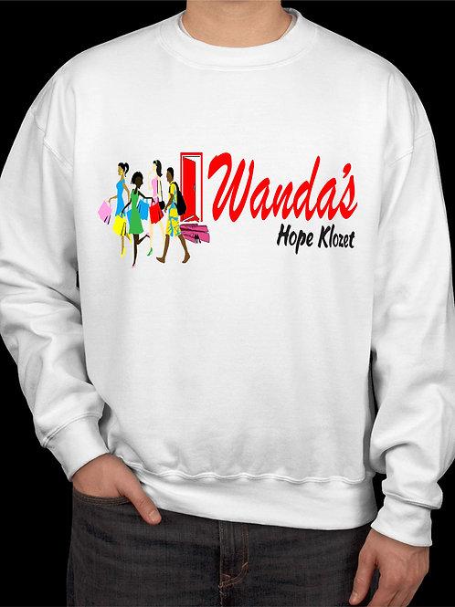 Wanda's Hope Klozet Sweatshirt Color White