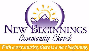 New Beginnings Church Banner with Logo.j