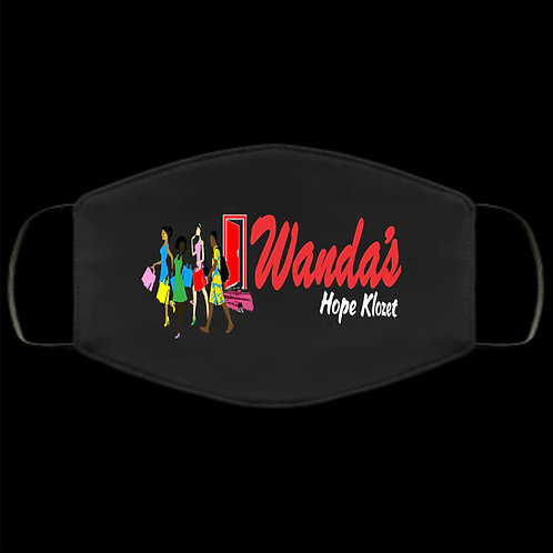 Wanda's Hope Klozet Black Mask
