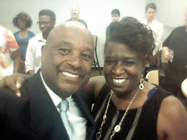 Brenda Wells and Dr. Willie Jolley
