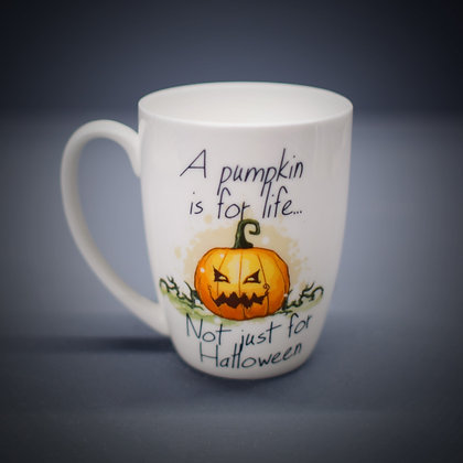 Pumpkin Bone China or Stoneware Mug CCL