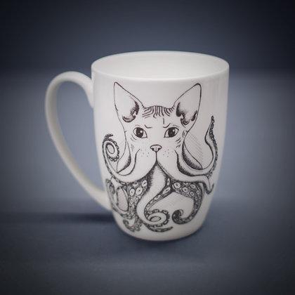 Cathulhu Bone China or Stoneware Mug CCL