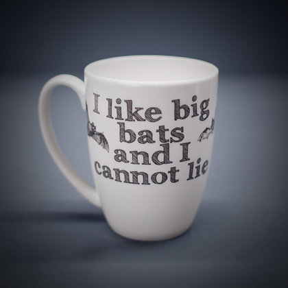 Big Bats Bone China or Stoneware Mug CCL