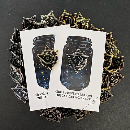 Moon Pin Badge CCL