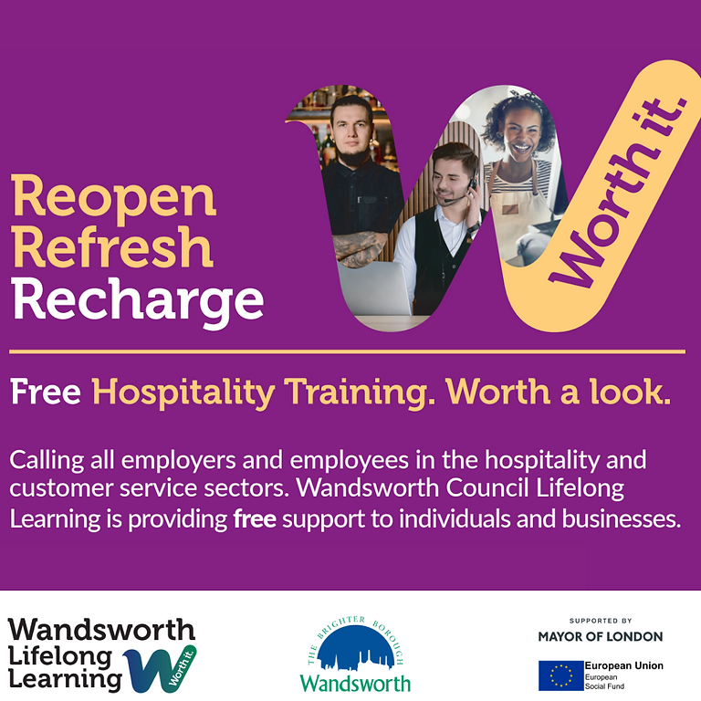 Reopen. Refresh. Recharge. FREE Masterclasses & Qualifications