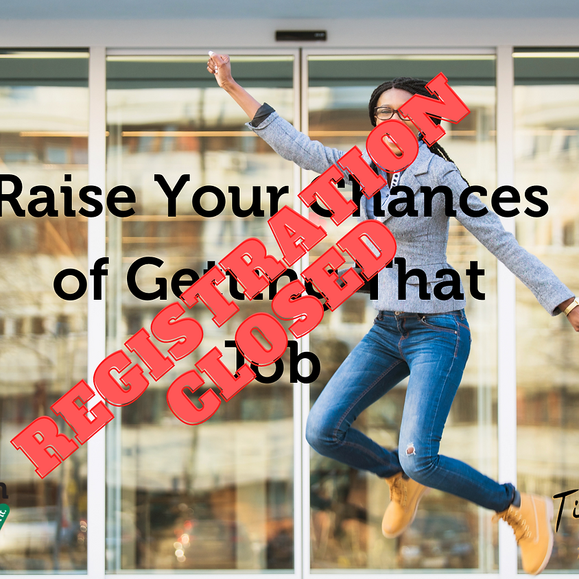 Raise Your Chances of Getting That Job