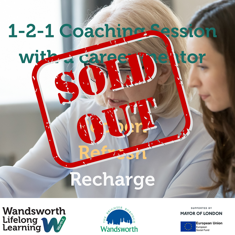 1-2-1 Coaching with a Career Coach - Sold Out