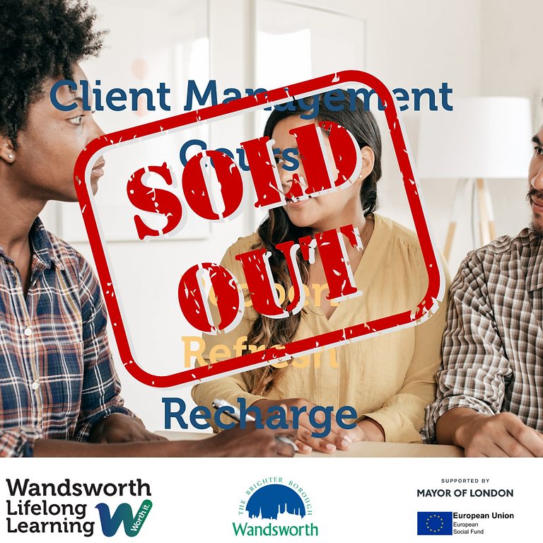Introduction to Client Management - Sold Out