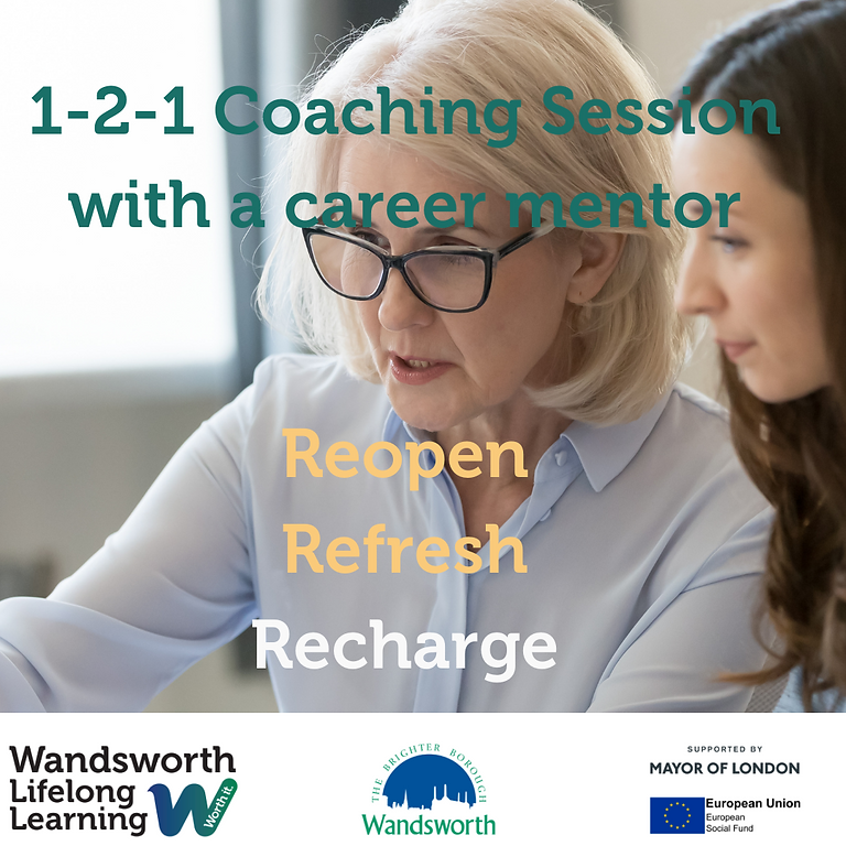 1-2-1 Coaching with a Career Coach