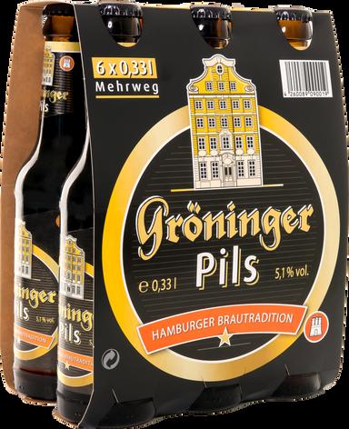 Gröninger Pils 6er Träger