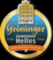 Gröninger Hamburger Helles Etikett