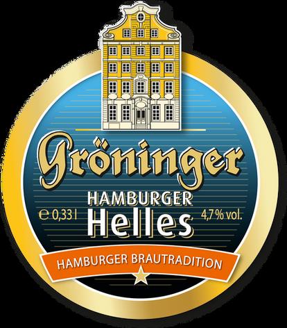 Hamburger Helles Etikett