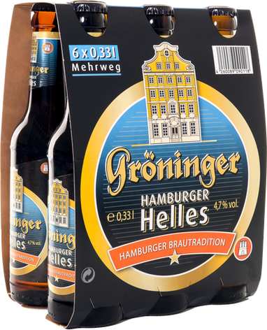 Hamburger Helles 6er Träger
