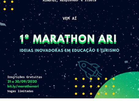 1º Marathon ARI: Ideias inovadoras em Educação e Turismo!
