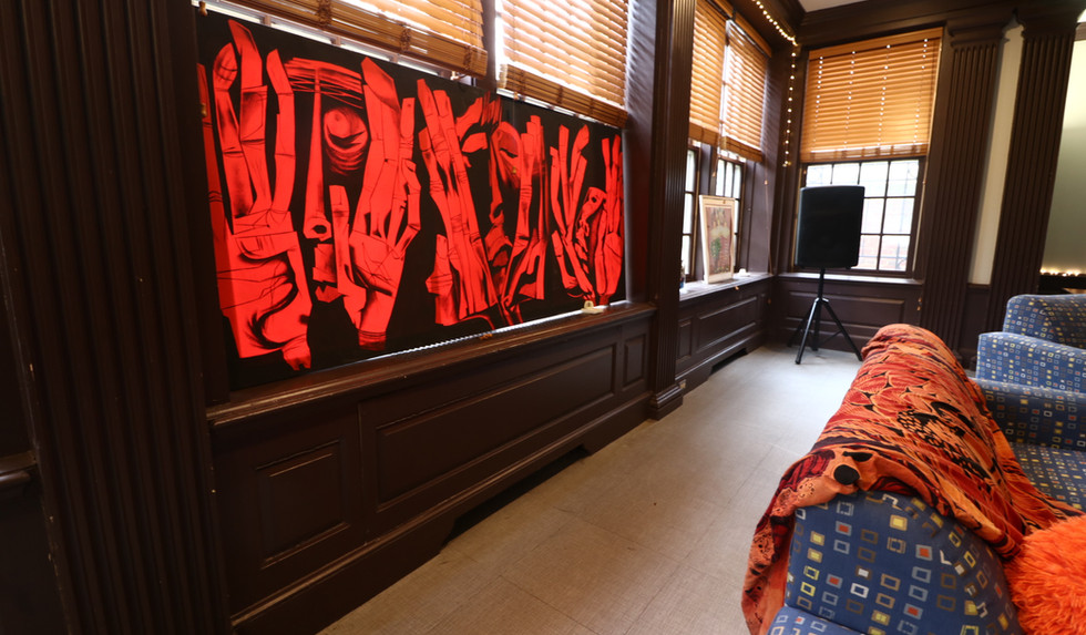 Art + History in the Lounge
