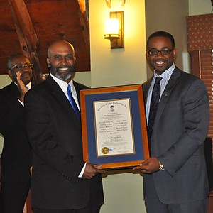 Phi Beta Sigma Chartering Ceremony for Rho Kappa Sigma Chapter