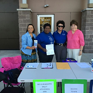 Voter Registration with League of Women Voters