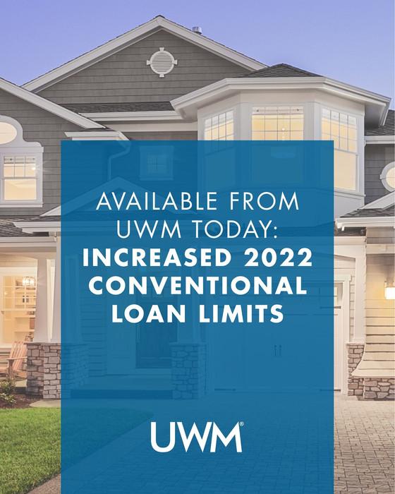 New Loan Limits!