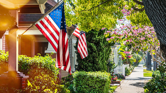 Is owning a home an important part to the American Dream?