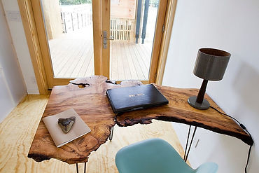 live edge furniture office