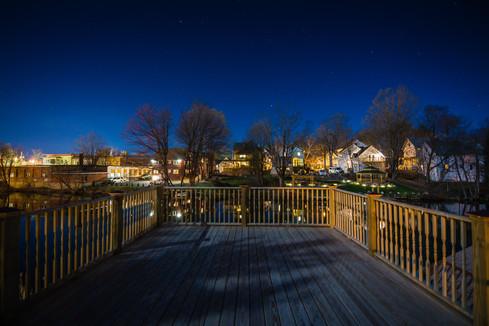 evening neighborhood