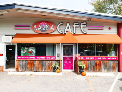 Karma Cafe Exterior