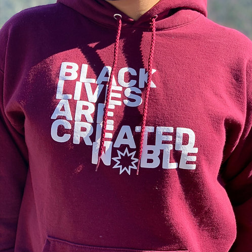 Black Lives are Created Noble Hoodie